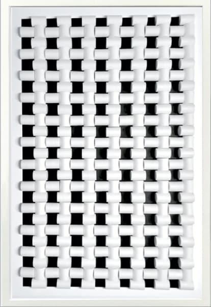 White Black Painel 3 Art | Priscila Schott