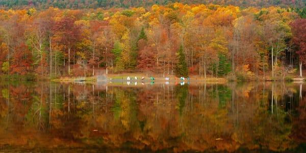 Autumn Calm Semi Panorama Photography Art | Ken Smith Gallery