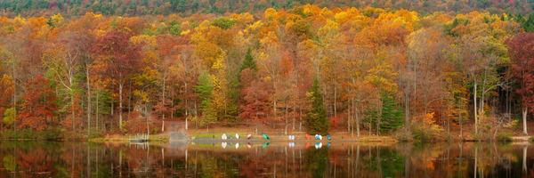 Autumn Calm Panorama Photography Art | Ken Smith Gallery