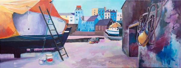 Tenby Pembroke Art Print/Art Of Wales