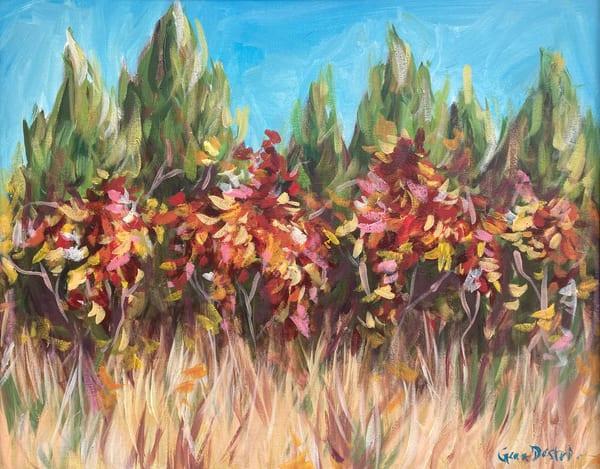 Cedar, Texas, Painting, Energetic