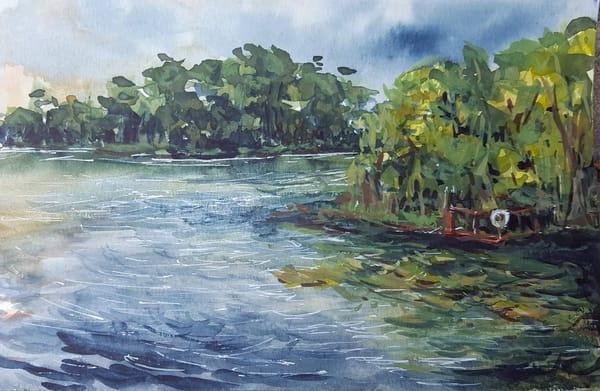 prints, landscape, lake, florida