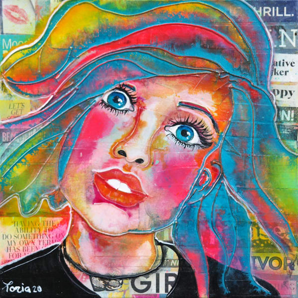 Girl   Sale Art | Toria Hill Gallery
