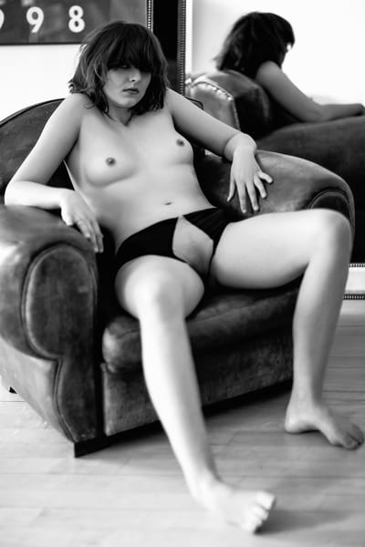 I Don't Sit Like A Proper Girl Photography Art | LenaDi Photography LLC