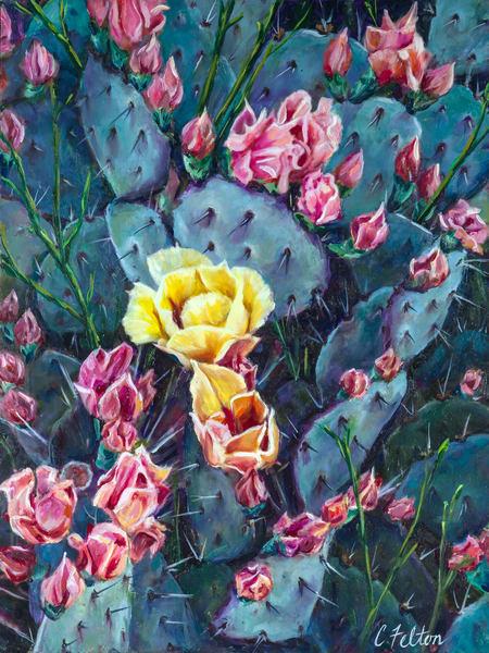 The Unfolding  Art | Channe Felton Fine Art