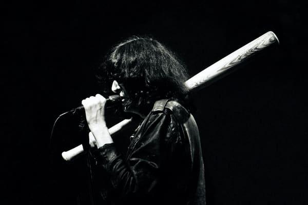 Joey Ramone of The Ramones