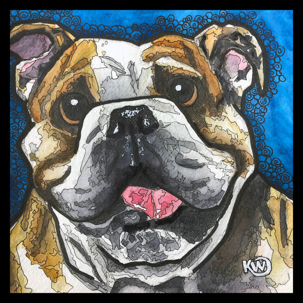 Bulldog Art | Water+Ink Studios