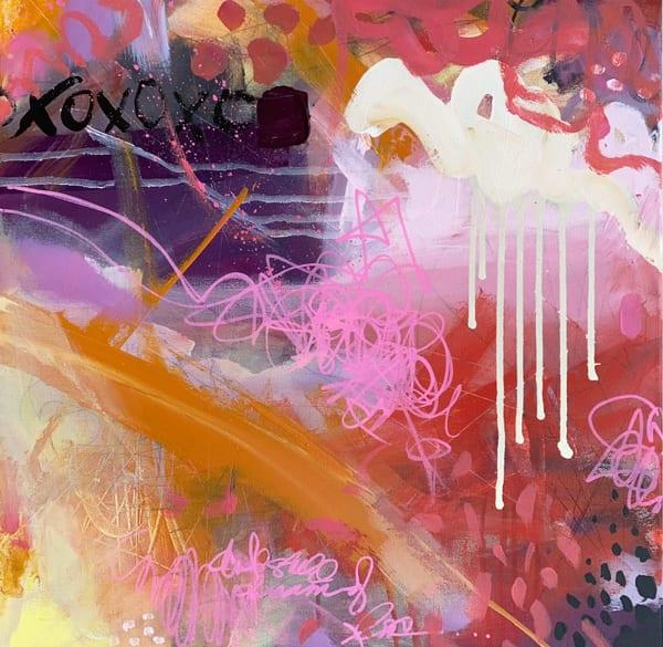 Wild Is My Favorite Color, Original Painting Art   Jessica Hughes Fine Art