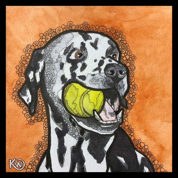 Dalmation Art | Water+Ink Studios