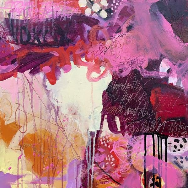 Don't Tame Me, Original Painting Art   Jessica Hughes Fine Art