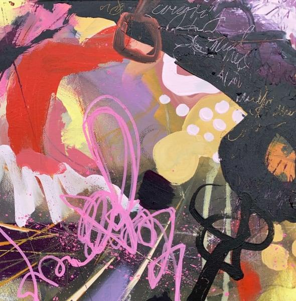 Dreams On Fire, Original Painting Art   Jessica Hughes Fine Art