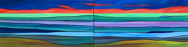 Monarch Sunset I And Ii Art | Emily Gilman Beezley Fine Art