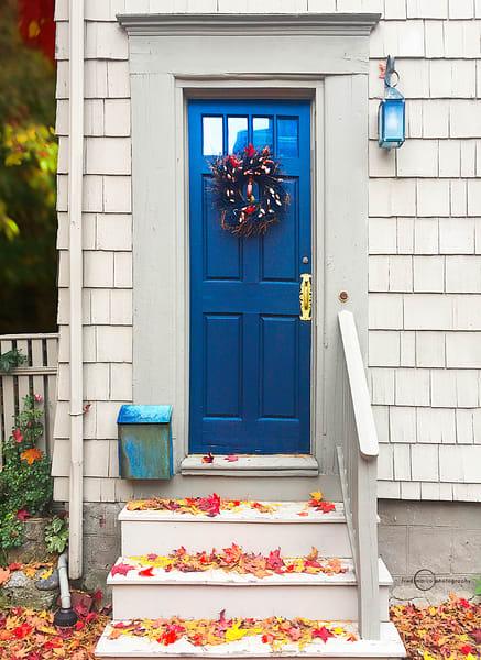 Blue Door in October