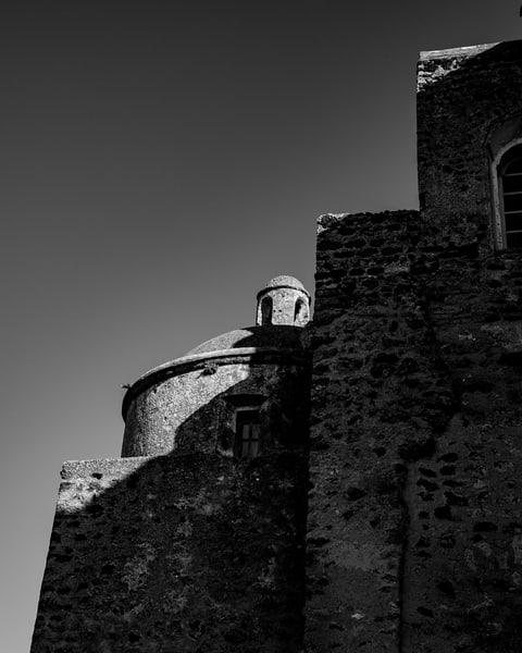 Ischia-Castello Agagonese III bw