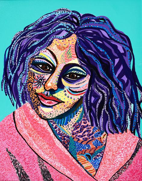 Sara Art   Goldwoman Fine Art