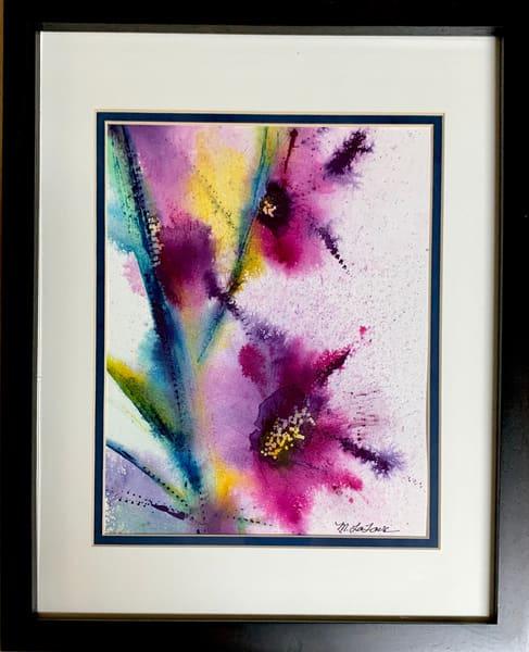 Floral Explosion Art | Mickey La Fave