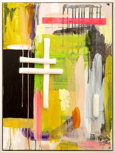 Time Change (Framed)  Art | Makiko Harris Art
