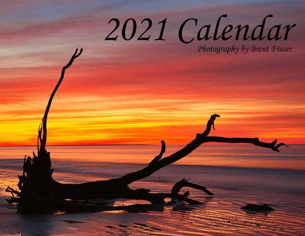 2021 Calendar | Brent Fraser Photography