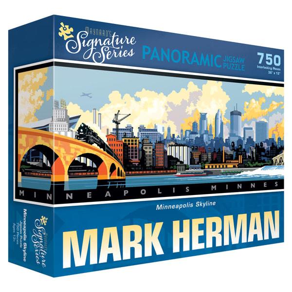 Minneapolis Skyline - Maynard's Signature Series