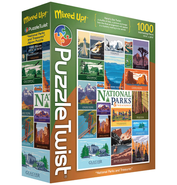 National Parks and Treasures - Mixed Up!
