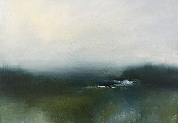 Twixt The Marsh And The Skies Art Card | Dawn Boyer Fine Art