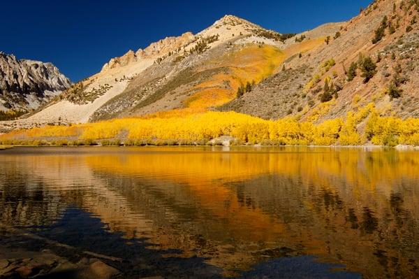 """Mountain Lake, Fall Colors"" print | Jim Parkin Fine Art Photography"