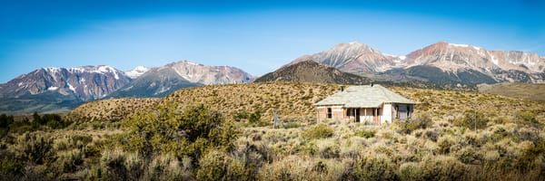 """Old House in Owens Valley"" print 