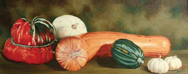 Squash   Original Art | Mercedes Fine Art
