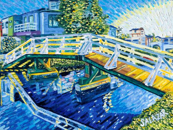 Venice Beach Canal Art | War'Hous Visual Art Studio
