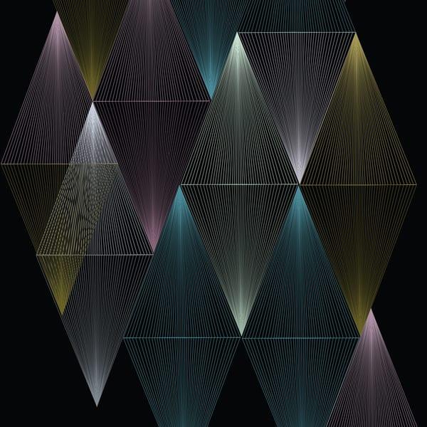 Caroline Geys | Congruent Vortex | Op Art | Abstract Art | Geometric