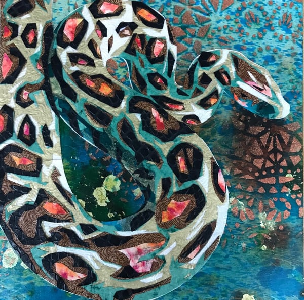 Python  Art   Kristi Abbott Gallery & Studio