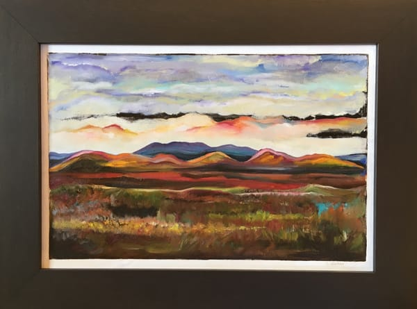 """Scottsdale Sky"" Original Artwork by Emily Gilman Beezley"