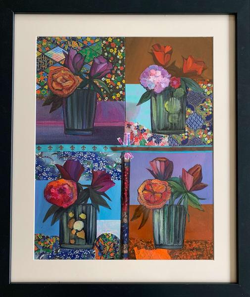 Sold: Floral Propulsion Art | Emily Gilman Beezley LLC