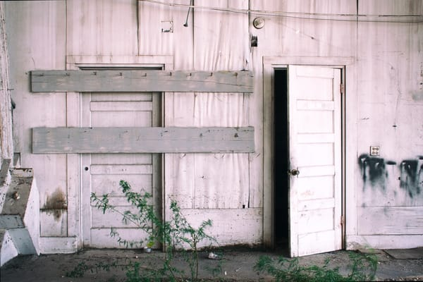 Two Doors One Opens  Photography Art | Carol's Little World