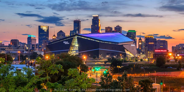Dusk And The City 2   Garage Sale Photography Art | William Drew Photography