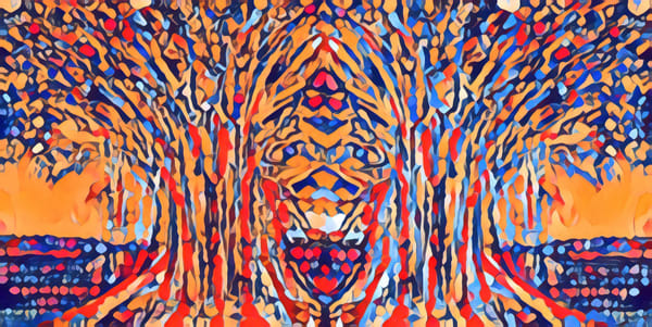 Weird Trees With Faces Art | pjriley
