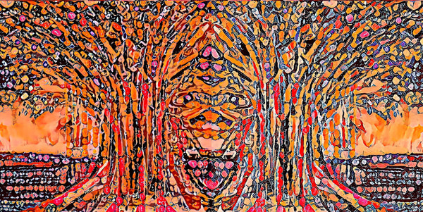 Forest Faces Art | pjriley