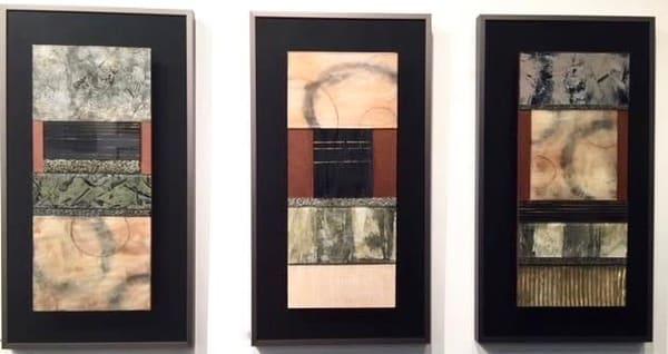 Zen Series  A.B.C  (Originals) Art | Laurie Fields Studio