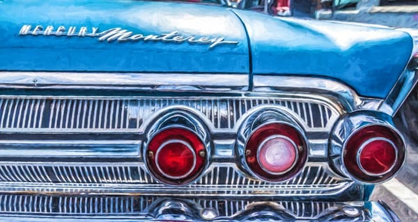 """""""Classic Tail Lights"""" Photography Art 