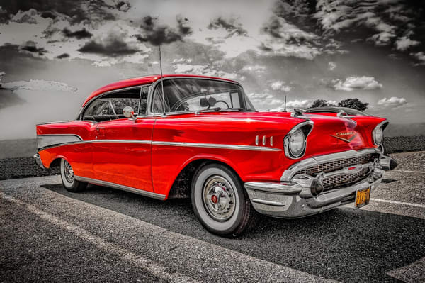 """""""57 Chevy"""" Photography Art 
