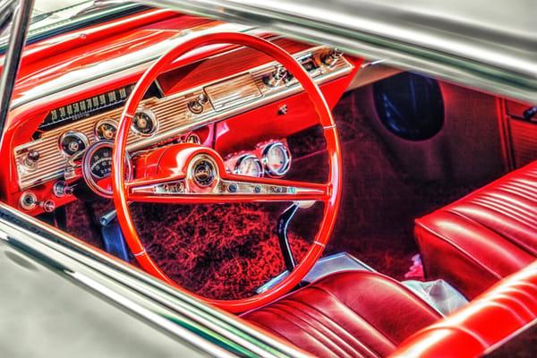 """Corvette Interior"" Photography Art | Inspired Imagez"