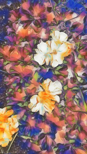 """""""Painterly Bouquet"""" Photography Art 