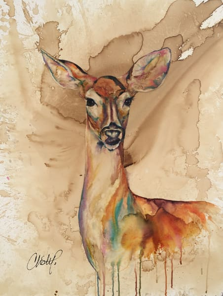 Doe A Deer Art | Christy! Studios