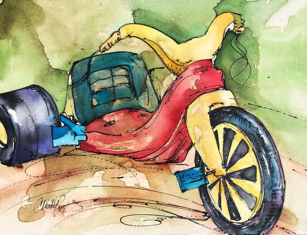 Bigwheel Memories Art | Christy! Studios