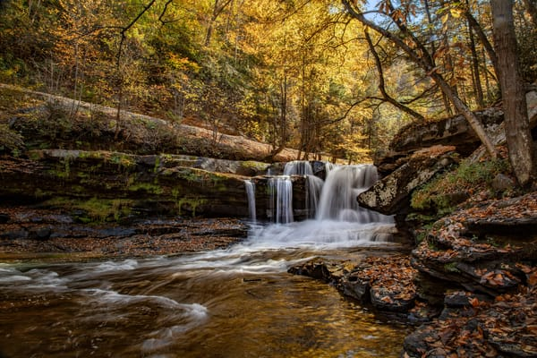 Dunloup Falls  1611 Art | Koral Martin Fine Art Photography