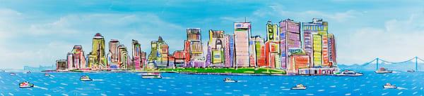 Nyc Skyline Art | Sandy Garnett Studio