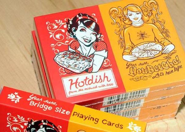 Hotdish/YouBetCha Bridge Size Playing Cards - 2 pack