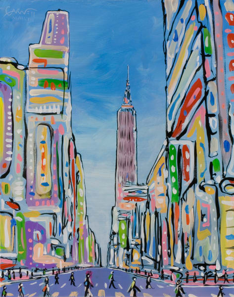 Empire State Building Art | Sandy Garnett Studio