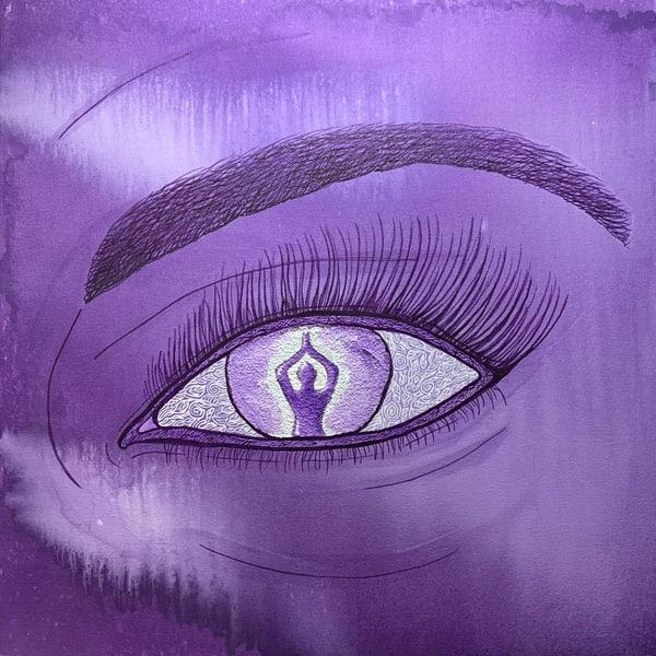 I See Meditation Art | Nisha Strain