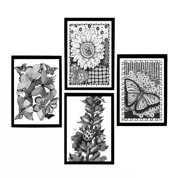 "Insect Collection | Kristin Moger ""Seriously Fun Art"""